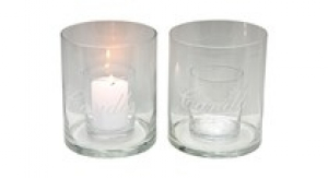 Candleholder candle small - DIAM 15 x 17,5 CM H