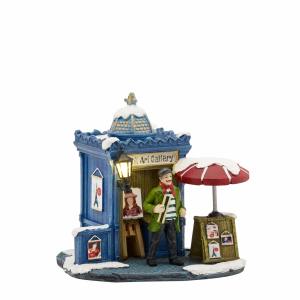Petit art gallary - battery operated - l12,5xw8xh9cm