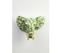 AniWall by Pomme-Pidou - Jim - Elephant - Fresh Ferns - 38,5x28x29 cm - Indoor/Outdoor