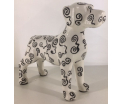 Studio Design - Jules - Danisch Dog - Spiralen - 24x9x20cm - 100% handmade - Every piece is unique - For Design Lovers