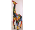 Studio Art - Tilly - Giraffe Pablo Patchwork - 17x9,5x39 cm - 100% handmade - Every piece is unique - For Art Lovers