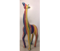 Studio Art - Tilly - Giraffe Salvador Stripe - 17x9,5x39 cm - 100% handmade - Every piece is unique - For Art Lovers