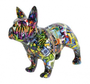 Bodhi's Big Jack Purple - Moneybank French Bulldog XL - 30x13,5x23cm