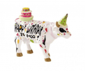 CowParade - Happy Birthday to Moo (small resin)