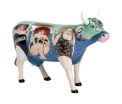 CowParade - Fun Seeker - Medium Ceramic