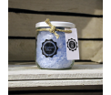 "Bath Crystals ""Ocean Blue"" - Glass pot 450 gr"