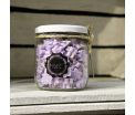 "Mini Handsoaps ""Lavender Fields"" - Glass pot 175gr."