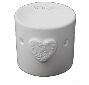 Heart Burner 8,5x9cm White