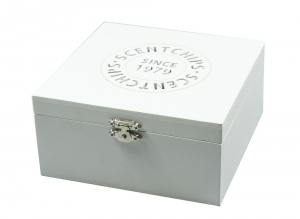Square Box 15cm White