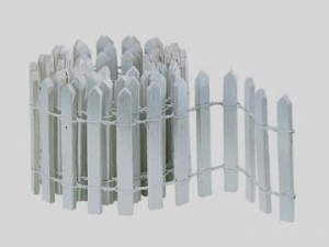 D56 Snow village snow fence white