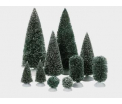 D56 Bag o frosted topiaries 10 pc