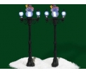 D56 Snowman street lights set/2