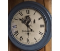 Wall clock Wood with glass 76cm
