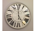 Wall clock Iron with glass 67cm