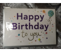 Zinzi - LuLu - Happy Birthday to You - 17x12cm - incl zilvergrijze enveloppe