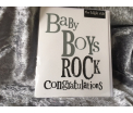 The Birght Side - Baby Boys Rock congratulations - 17x14cm - Inclusief enveloppe