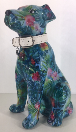 Mylo Moneybank Dog blauw