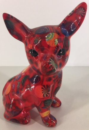 Nanou - Glasses stand Chihuahua - Red with candy
