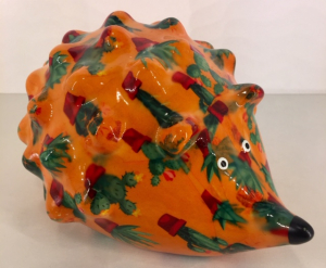 Spike- Moneybank Hedgehog - Orange