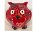 Owl Glasses stand - red