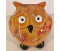 Owl Glasses Stand - Yellow
