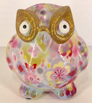 Owl Glasses Stand - Pink