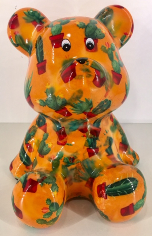 Cyril - Moneybank Bear - Orange