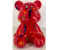 Cyril - Moneybank Bear - Red
