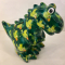 Tito Moneybank Dinosaur - Green with Birds
