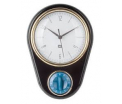 Black Clock with kitchen timer Retro , 23X16cm, (excl. 1AA batt)