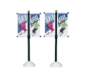 Street pole banner, set of 2