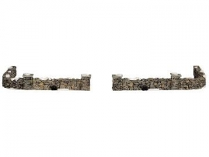 Colonial stone wall, set of 10