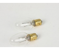 Clear E10 12V replacement bulb S2