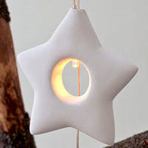 Olina Star - Light ornament LED