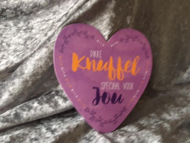 Favoriete Hearts - Dikke Knuffel speciaal voor Jou - 14,5x15cm - kartonnen #YG72